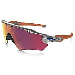 Oakley Radar Ev Frame Silverblueorange Lens Prizm Field Sunglasses