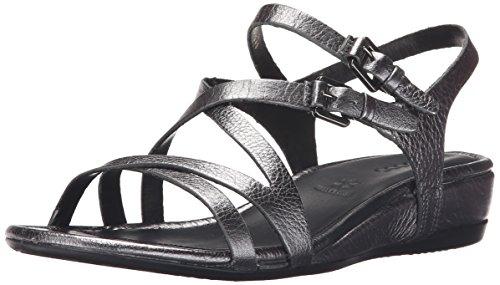 Ecco Touch 25 S Sandalo Donna Cinturino Alla Caviglia Sandali Dark Shadow Metallizzato