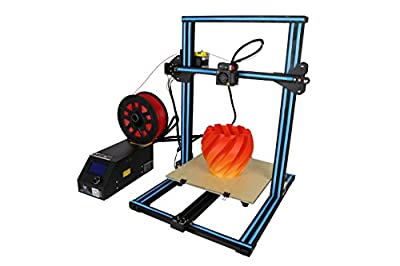 Creality CR-10S 3D Printer Aluminum With Upgraded Dual Leading Screw Heated Bed High-precisio Free Testing Filament+Free Tool Set Blue