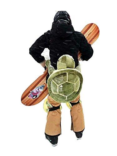 Knieschützer Snowboard, Skifahren, 1 Paar Schildkröte Knieschoner - Hintern Protektor fuer Damen &...