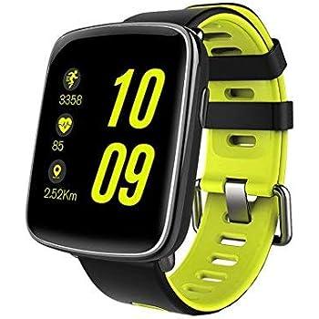 Mindkoo Montre GV68 Montre Etanche IP68 Montre Connectée avec moniteur de fréquence de cardiaque Sport Smart