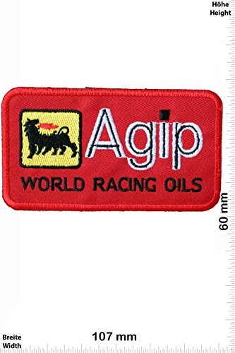 patches-agip-world-racing-oils-red-motorsport-ralley-car-motorbike-iron-on-patch-applique-embroidery