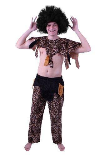 TH-MP Afrikaner Kostüm für Herren Gr. L Buschmann - Buschmann Kostüm