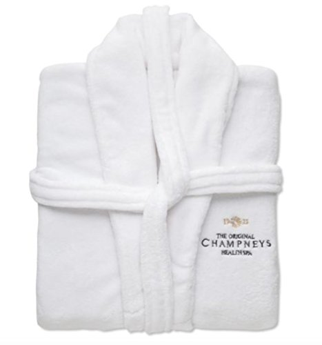 Champneys Luxus Fleece Bademantel -