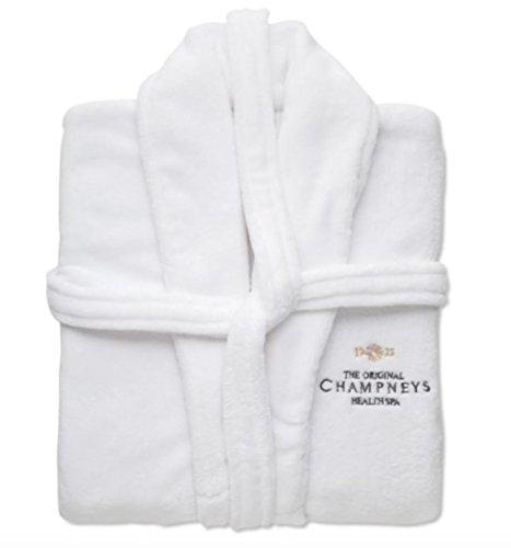 Champneys Luxus Fleece Bademantel -