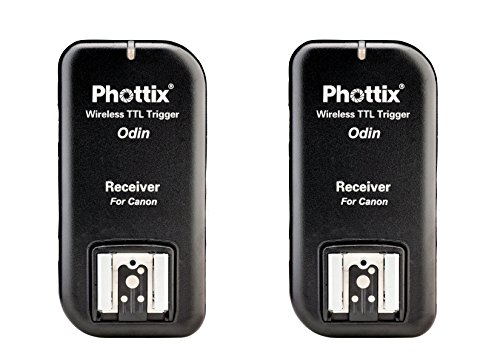 Cheapest Phottix Odin TTL Flash Trigger for Canon Two Receiver V1.5 on Line