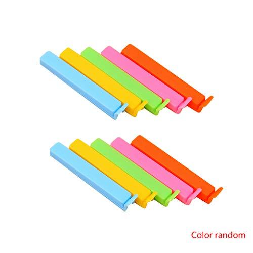 Sunlera Inicio 10PCS Clips plástico Colores Brillantes