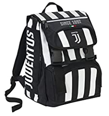 Idea Regalo - Seven Zaino Estensibile Big Juventus Coaches, 28 Lt, Bianco/Nero, 41 cm