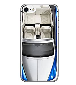 PrintVisa Designer Back Case Cover for Apple iPhone 7 (Open Top Sports Car Automobiles )