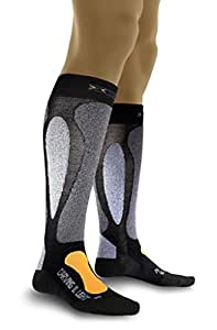 X-Socks Funktionssocken Ski Carving Ultralight, Black/Orange, 35/38, X020022