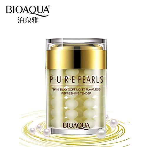 Tyro BIOAQUA Brand 100% Pure Pearl Essence Face Cream Deep Moisturizing Skin Care Anti Wrinkle Face Care Whitening Cream Mask 60g