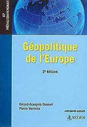 Géopolitique de l'Europe - 2e éd. - IEP - Prépas commerciales