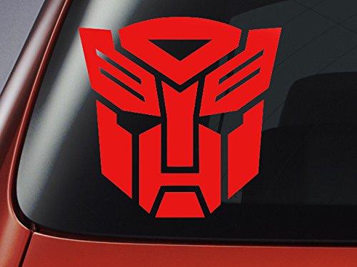 Transformers-Autobot da auto, con Logo, per auto, computer portatili, Adesivi da parete