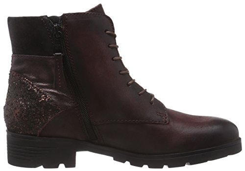 Mjus 582204-0101-0001 Damen Kurzschaft Stiefel Rot (Rouge+Rame+Bordo+Bordo)