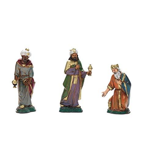 Moranduzzo Reyes Magos en Bolsa, 10cm