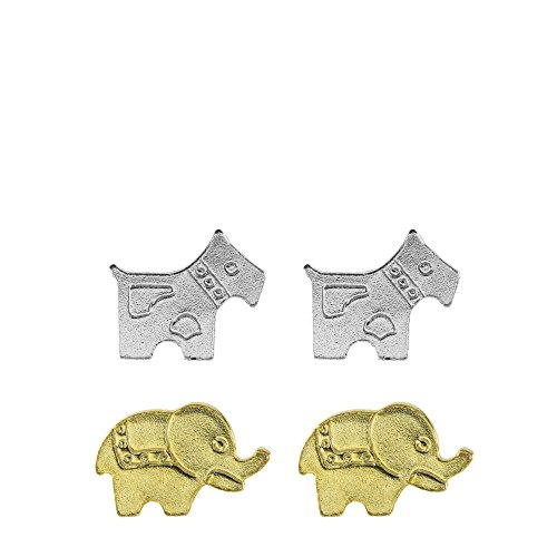 Córdoba Jewels |Set de pendientes en plata de Ley 925. Diseño Set...