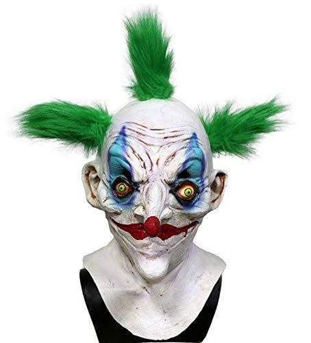 Hengyutoy Mask Masque Clown Tueur en Latex Accessoire de déguisement Halloween