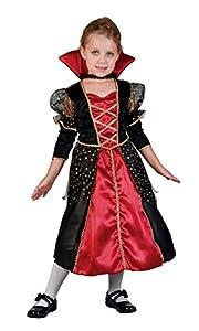 Boland Disfraces Niños de Halloween Vampire Princess Tamaño 3/4 años