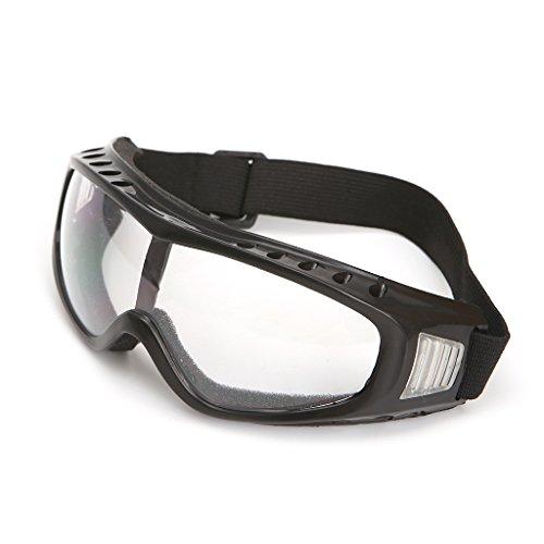 Yintiod Universal Outdoor Schutzbrille Brillenglas Bergsteigen Skifahren Brillen Farbe: Transparent