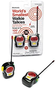 World's Smallest Walkie Talkie Electronic Toys