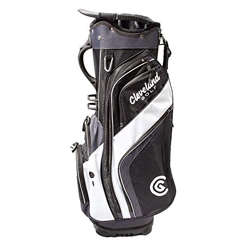 Cleveland CG Cart 2019 Friday - Sac de Golf BLK/CHR/WHT