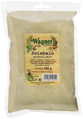 Wagner Gewürze Zwiebeln granuliert, 2er Pack (2 x 250 g)