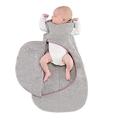 Snuz bolsa saco de dormir, 2,5tog, gris pop rosa