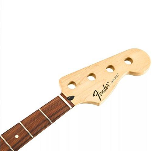 FenderTM Standard Series Jazz Bass® Hals, 20 Medium Jumbo Bünde, Pau Ferro Griffbrett