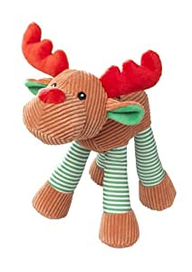 House of Paws Just for Fun christmas Reindeer Dog Toy