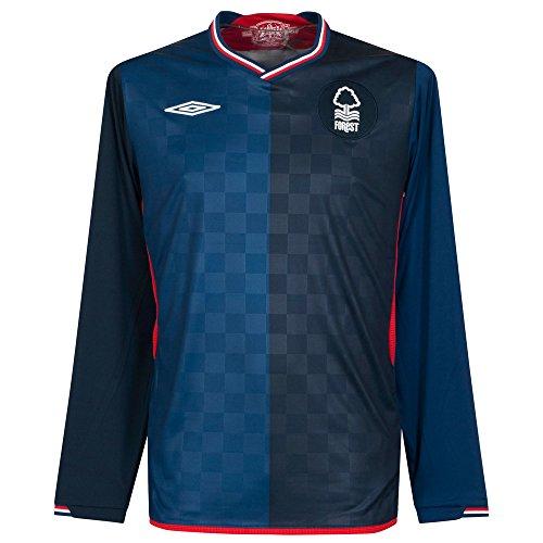 Nottingham Forest 2009/10Long Sleeve Away Shirt (XL) Gr. XL,
