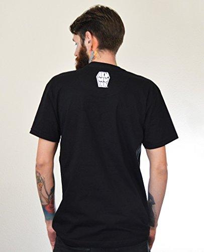 Akumu Ink Ice Scream T - Shirt Tattoo Skull Comic - Unisex Schwarz
