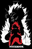 Notebook: Super Saiyan G , Journal for Writing, College Ruled Size 6' x 9', 110 Pages
