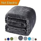 Balichun Luxury 330 GSM Fleece Blanket Super Soft Warm Fuzzy Lightweight Bed or