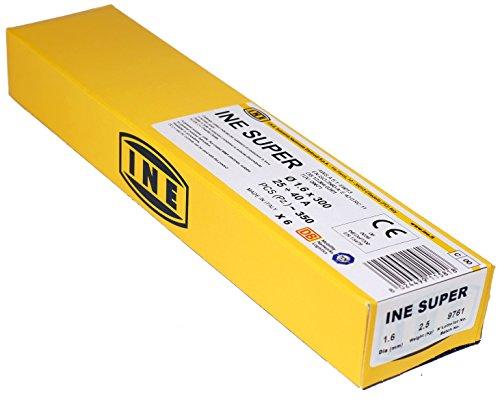 Proweltek-Ine PR1015- Caja de 350baquetas de soldadura para acero, diámetro 1,6mm