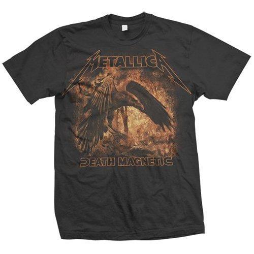 Metallica - - Raven da uomo a maniche corte T-Shirt in nero