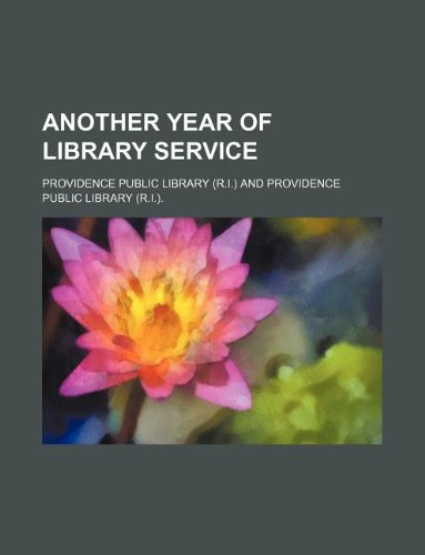 Another year of library service