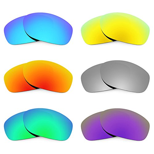 Preisvergleich Produktbild Revant Ersatzlinsen für Oakley Pit Bull Polarisiert 6 Paar Kombipack K027