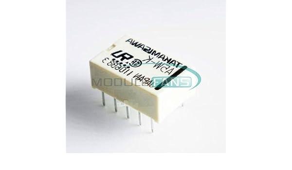 10PCS Relais Takamisawa A5W A5W-K DIP-10 Relay 2x UM 5V Audio Signal