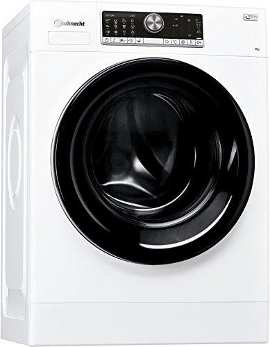 Bauknecht WM Style 824 ZEN Waschmaschine Frontlader/A+++ B / 1400 UpM / 8 kg/weiß/sehr leise mit 48 dB/Mehrsprachiges Display