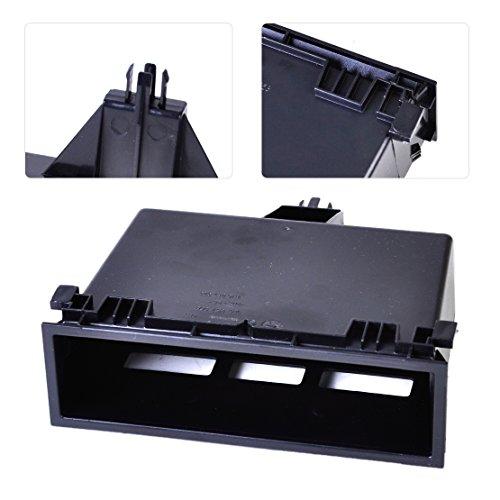 beler schwarz Armaturenbrett Mittelkonsole Aufbewahrungsbox Tablett Kleine 3b0857058 (Mittelkonsole Kleine)