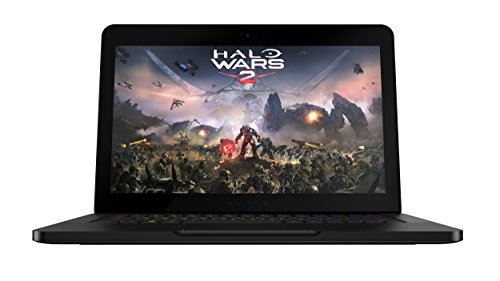"Razer Blade Portatile gaming, 14"" Full HD, Intel Core i7-7700HQ, 16 GB RAM, 512 GB SSD, Geforce GTX 1060, Windows 10, Nero [Germania]"