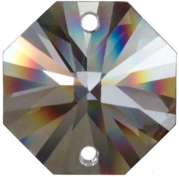 Rieser premium-kristall Set: 50x OCTAGON 14mm SPECTRA® CRYSTAL von Swarovski für Lüster - Leuchten - Kronleuchter