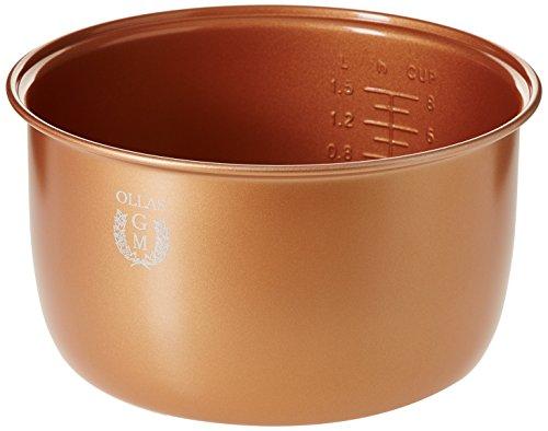 GM C09012 Cubeta cerámica dorada de 4 litros Oro