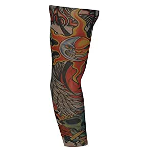 Faux Manche de Tatouage - Mal soleil et la lune (T18) Fake Tattoo Sleeve