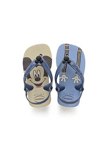 Havaianas Unisex Baby Disney Classics II Sandalen, Beige (Beige), 24 EU(22 Brazillian)
