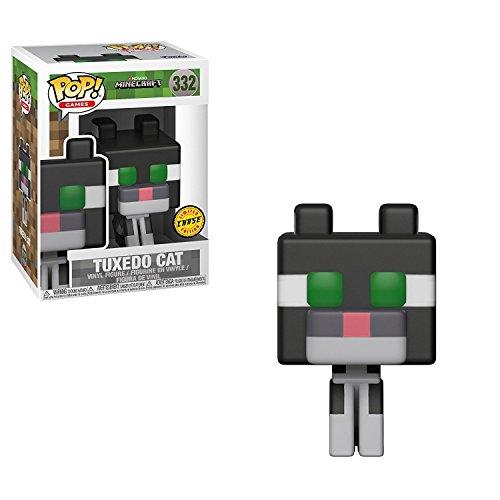 Funko ¡Popular! Juegos Minecraft Gato del Smoking 3,75' Figura de Vinilo de la Variante de persecución
