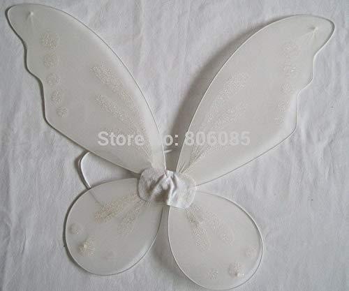 Pixie Fee Weiße Flügel Schmetterling halloween party flügel