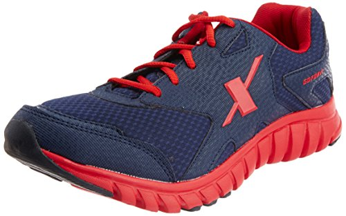 Sparx Men's Navy Blue and Red Running Shoes - 6 UK (SX0185G)