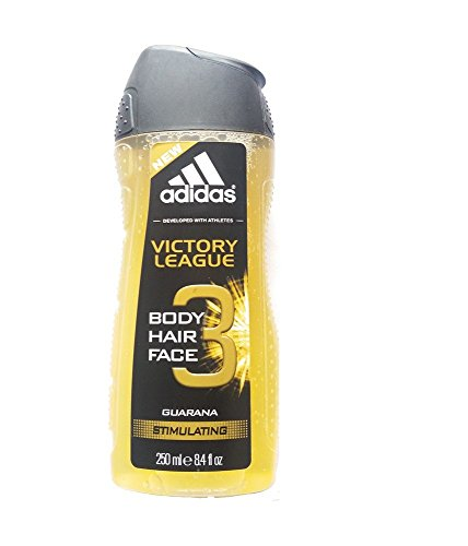 Adidas Victory League Guarana Stimulating Hair & Body Shower Gel 250ml