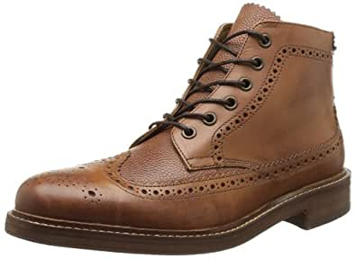 Hudson Men's Hemming Ankle Boots, Tan, 11 UK